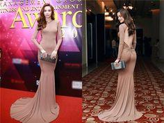 Elly Trần, Hà Hồ đẹp nhất tuần với váy màu nude