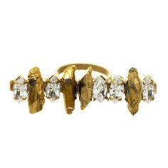 druzy & navette ring - a.v. max