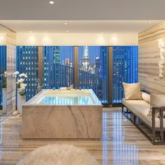 Mandarin Oriental's luxury hotel on the bank of Huangpu River