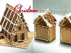 Φτιάξτε χιονισμένα γλυκά σπιτάκια Χριστουγέννων με λαχταριστά πτι μπερ μπισκότα, κατάλευκο γλάσο και ζάχαρη άχνη. Τα μπισκότα του δάσους είναι από τις συντ