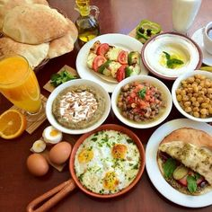 Palestinian Breakfast