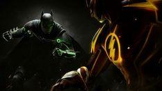 HD wallpaper: Batman, The Flash, DC Comics, superhero, Injustice 2 Johnny Cage, Dc Comics, Aquaman, Wallpapers Games, Desktop Wallpapers, Injustice 2 Batman, Injustice 2 Characters, Dc Characters, Call Of Duty