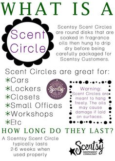 What is a Scentsy scent circle? #scentsyshopwithcari www.carischlie.scentsy.us
