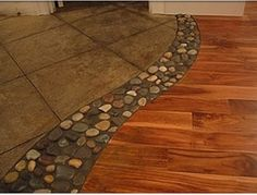 We just did our floors with wood and tile, wish would of seen this!!!