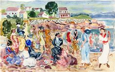 Maurice Prendergast - Holiday