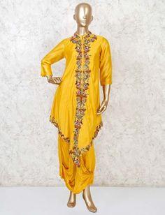 Designer Kurtis Online, Cotton Silk Fabric, Straight Cut Dress, Suits Online Shopping, Yellow Online, Long Gown Dress, Indian Salwar Kameez, Designer Salwar Suits, Festival Wear