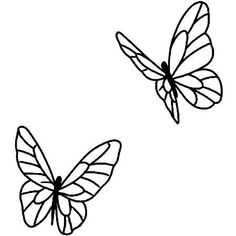 Easy Butterfly Drawing, Simple Butterfly Tattoo, Butterfly Tattoo Designs, Butterfly Outline, Tattoo Simple, Butterfly Design, Tattoo Outline Drawing, Doodle Tattoo, Tatoo Art
