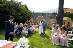 Jamie and Stephen's Ravello wedding in Italy 12th of July 2017