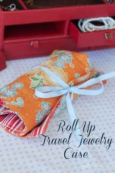 Travel-Jewelry-Case-Tutorial25 http://www.rileyblakedesigns.com/blog/2014/07/02/project-design-team-wednesday-roll-travel-jewelry-/