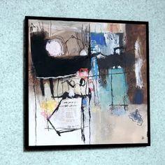 Quadro 27x27cm * Abstrato * Reprodução * N Bourgne - R$ 30,00 em Mercado Livre