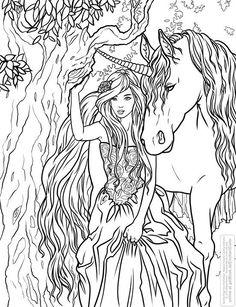 Démone Bw Line Art Pinterest