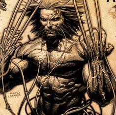 Wolverine . Dustin Weaver