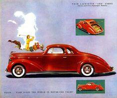 1937 Nash LaFayette 5 window 400 Coupe