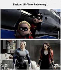 One thing, tell me what Marvel movie or whatever movie they're in! I've only watched one Marvel movie, and that was over a year ago. Ms Marvel, Marvel Funny, Marvel Memes, Marvel Dc Comics, Marvel Avengers, Dead Pool, Dc Memes, Funny Memes, The Villain