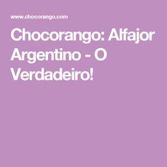Chocorango: Alfajor Argentino - O Verdadeiro!