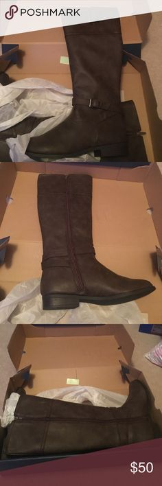 Selling this Brand new riding boots American eagle size 9/12 on Poshmark! My username is: christinaben9. #shopmycloset #poshmark #fashion #shopping #style #forsale #American Eagle Outfitters #Shoes