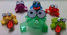 Прыгающие лягушки из пластиковых бутылок, мастер-класс