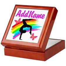 AWESOME GYMNAST Keepsake Box Personalized Gymnastics keepsake and jewelry boxes décor to delight your beautiful Gymnast. http://www.cafepress.com/sportsstar/10114301 #Gymnastics #Gymnast #WomensGymnastics #Gymnastgift #Lovegymnastics #PersonalizedGymnast