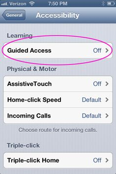 Use Guided Access on your iPhone, iPad or iPod touch to temporarily restrict the device to one app. Let your child use your iPhone without fear of wayward clicking!