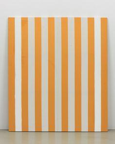 kamelmennour:  DANIEL BUREN Peinture acrylique blanche sur tissu...