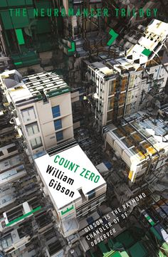 Abstracted architecture graces new covers for William Gibson's dystopian novels.