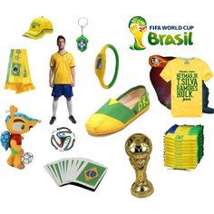 2014 World cup Brazil Style Fashion Item