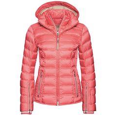 Bogner Noemi Down Womens Insulated Ski Jacket, Glowing Green