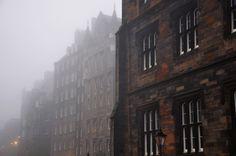 """"""" Edinburgh fog. """""""