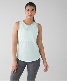 Pin for Later: Minty Fresh: The Perfect Spring Activewear Color (and 38 Ways to Wear It) Lululemon Sculpt Tank Lululemon Sculpt Tank ($58)