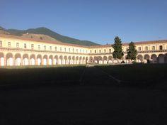 Certosa di Padula, Padula (SA) - Chiostro grande - luglio 2014