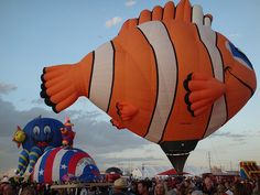 Glodeo, Albuquerque Hot Air Balloon Fiesta 2009 by amybami, via Flickr