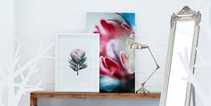 Compliment your pastel interiors with exciting wall art