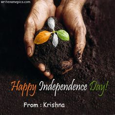 write my name on happy independence day greetings card pictures. beautiful india independence day quotes images with add test