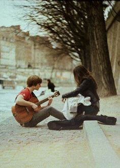 Guitar - playing for someone
