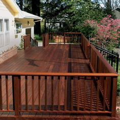Beautiful Ipe Hardwood Deck by Nova USA Wood, which offers an extensive line of premium hardwoods for decking, flooring, and siding!