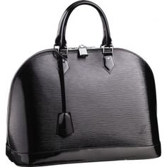 Louis Vuitton en cuir Epi M5289N Alma MM Noir électrique Sacs Louis Vuitton  Sac Cuir Femme f5c08dbb464