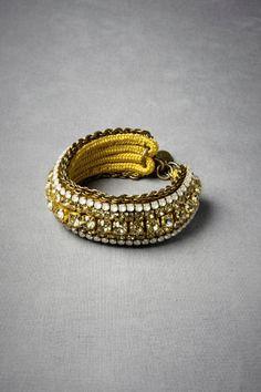 Channeled Crystal Bracelet  BHLDN