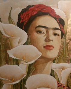 Frida by Steve Leal Diego Rivera Frida Kahlo, Wall Drawing, Types Of Art, Art School, Drawings, Painting, Frida Khalo, Pintura, Art