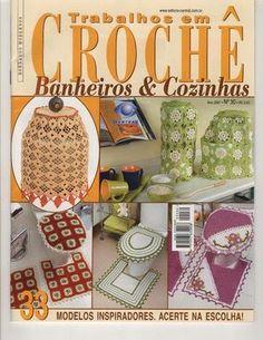 revista trabalhos em croche nº 30 BANHEIRO E COZINHA - Adriana Roque - Álbuns da web do Picasa