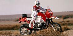 Gaston Rahier - Préparation avant le Paris-Dakar 1986 Rally Raid, R80, Off Road Adventure, Bmw Motorcycles, Gaston, Motorbikes, Paris, Classic, Vintage
