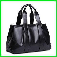 Catkit Design Womens Europe Accent Totes Large Hobo Satchel Shoulder Bag Black - Hobo bags (*Amazon Partner-Link)