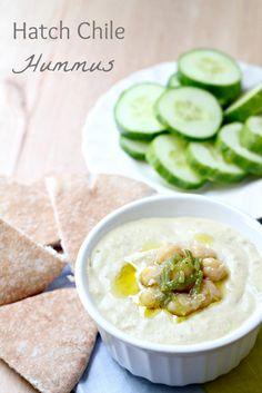 Hatch Chile Hummus by What Jew Wanna Eat