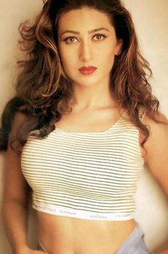 The young Karishma Kapoor
