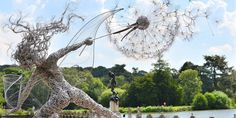 Dramatic Fairy Sculptures Dancing With Dandelions By Robin Wight | Bored Panda