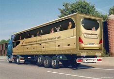 Creative Truck Advertisement