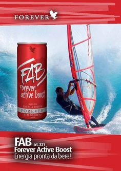 FAB is a quick, refreshing way to stay energised and alert all day long.  FAB gives you both immediate and long-term energy, with natural ingredient guarana, and ADX7 technology: a proprietary blend of adaptogenic herbs and nutrients.