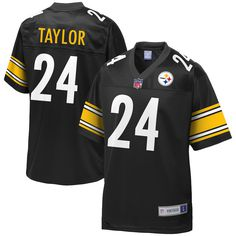 a140b4d01 Ike Taylor Pittsburgh Steelers NFL Pro Line Retired Player Jersey – Black