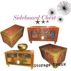 Antique Furniture: ANTIQUE SIDEBOARD CHEST