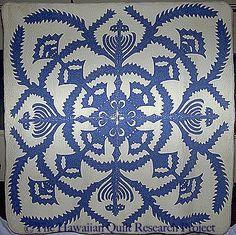 Hawaiian Quilt Project