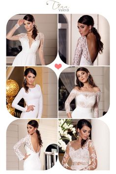 Wedding dresses - it is always a luxury. But there is one item that is able to transform the entire look of the bride - a sleeve. Namely long sleeve complement the image of nobility, dignity and modesty. Closed dress with long sleeves is considered a model of refined taste, so these wedding dresses can be seen on a real princess. 👑 💎 👰  #tinavalerdi #wedding #dress #collection #2017 #chiffon #lace #happybride #instabride #weddingdress #weddinggown